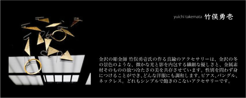 竹俣勇壱 ピアス